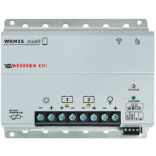 WESTERN WRM dualB MPPT CHARGER